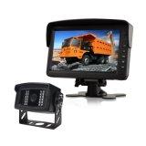 7-pulgadas Sistema de copia de seguridad con la cámara a prueba de agua IP68