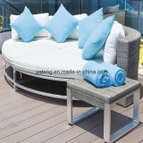 High Quality Aluminum PE-Rattan Outdoor Furniture hotel Furniture pole set