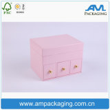 Pink Beauty Drawer em forma de Wholsale Apparel Packing Pandora Jewelry Box