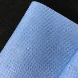 Nonwoven enduit de bleu hydrophile (48GSM)