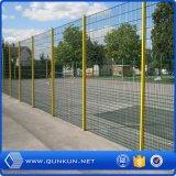 Acoplamiento de alambre de la cerca del bucle del doble de la fábrica de la cerca galvanizado en venta