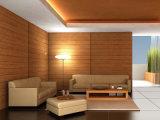 Panneau en bois décoratif de PVC pour le plafond et le mur