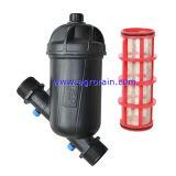 Type van Filter van de Schijf van de Irrigatie van de landbouw het Plastic T - het Mannetje van 1 - 1/2 Duim