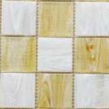 Color de cristal del blanco del mosaico 48mmby 48m m