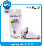 Smart Home Wireless LED Bulb Alto-falante Bluetooth