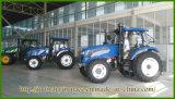 Alimentador agrícola de alta potencia de múltiples funciones de abastecimiento de la rueda/alimentador de granja 140HP