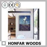 Frame de madeira natural da foto do retrato de Brown para a decoração Home