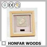 Moldura de foto de bebê de madeira moderna nova decoração doméstica