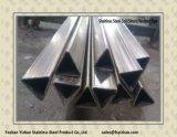 Tube Shaped spécial soudé de l'acier inoxydable 304