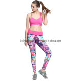 Hot Dri Fit Sexy Seamless Yoga Compression Fechar Fitting Sports Wear para Gym