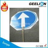 Signe de rue personnalisé solaire d'Aluminum/ABS DEL