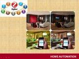 Z-Agitar la solución elegante teledirigida de los sistemas de seguridad de la automatización casera de Zigbee
