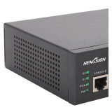 8 commutateurs réseau gauches d'accès d'Ethernets rapides et de combo 2