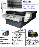 10 Jahre der Erfahrungs-Rubber/PVC/EVA Hefterzufuhr-Drucken-Maschinen-mit wundervoller Qualität
