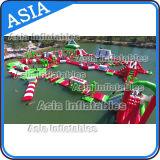 park Aqua, het Opblaasbare Drijvende Park van het Water, Sporten van het Geteerde zeildoek van pvc van 0.9mm het Opblaasbare van het Water van Volwassenen de Opblaasbare