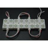 4SMD5630 el módulo amarillo 36*36 de la inyección del color LED impermeabiliza el módulo del LED