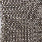 装飾的なカーテンの網か装飾的な金網