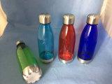 BPAは金属のふたが付いている昇進のTritan Bowliingの形のコーラの水差しを放す