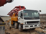 Guter Zustand verwendeter Sany Isuzu Betonpumpe-LKW 42m Rhd