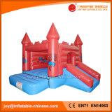 Spiderman-aufblasbares Prahler-Plättchen-federnd Schloss für Verkauf (T2-217)