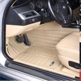 PVC cheio XPE de couro da bordadura do tapete do carro