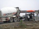 Máquina de pavimentación concreta curvada concreta del encofrado deslizante del bordillo Slipformer/Powercurber Mc5000 para el proyecto de camino