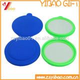 O silicone feito sob encomenda compo o fabricante cosmético Pocket do espelho da composição do espelho