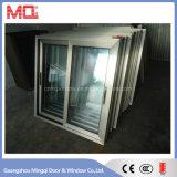 Fenêtre coulissante en aluminium à double vitrage