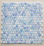 زجاجيّة فسيفساء إيريديوم اللون الأزرق خليط