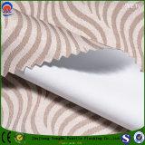 織布ジャカードカーテンのための編まれたポリエステル防水Frのコーティングの停電のカーテンファブリック