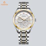 機械Speicalの方法スポーツのスイス人の腕時計のステンレス鋼の男性用腕時計72838