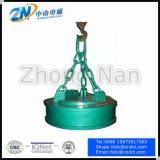 Électro-aimant de levage de grue circulaire pour le rebut en acier traitant avec le coefficient d'utilisation de 75%