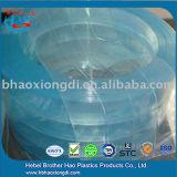 Weicher niedrige Temperatur-hellblauer Plastiktür-Vorhang