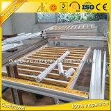 Изготовлений профиля Китая загородка верхних алюминиевых горизонтальная алюминиевая