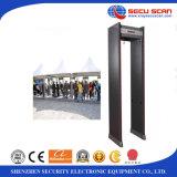 18 strekenGang door de deurframe van Detetor van het Metaal bij-300A metaaldetector voor menselijk lichaamsveiligheidscontrole
