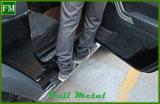 Placa Running preta para o fabricante Fullmetal da porta do Wrangler 2 do jipe