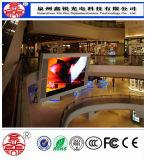 P6 광고를 위한 실내 LED 풀 컬러 모듈 스크린 전시