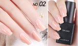 Красотка ногтя ногтя бархата подгонянная клеем Longlasting на один месяц