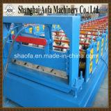 Rolo hidráulico da telhadura da placa de aço da cor da estaca que dá forma à máquina