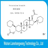 FDA Zustimmungs-Apotheke Vecuronium Bromid CAS 50700-72-6 für muskulöses Beruhigungsmittel