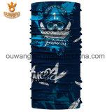 Bandana tubular do lenço sem emenda feito sob encomenda de Headwear do tipo