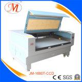 넓은 잡업장 (JM-1680T-CCD)를 가진 의복 Laser 가공 기계