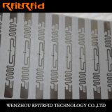 Resistencia a doblar la escritura de la etiqueta de la etiqueta engomada de RFID