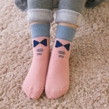 De dikke van de Katoenen van het Jonge geitje Sokken van /Cushion Sokken van de Winter/Terry Socks