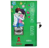 Máquina expendedora automática del pequeño preservativo que cae
