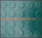 高品質希薄な円形ボタンのゴムマット