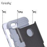 El híbrido resistente de Ctunes 3 capas selló completamente 3 en 1 cubierta a prueba de choques del shell duro del caso de la contraportada de la armadura para el iPhone 7