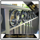 Outdoor Privacy Fence Panels Alumínio Garden Security Esgrima