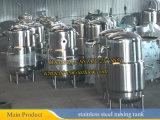 réservoir de mélange isolé par 500liter d'acier inoxydable avec le mélangeur de grattoir