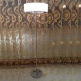 Así maravilloso Hotel de diseño moderno blanco Planta Permanente de lectura Iluminación lámpara de pie para dormitorio en pantalla de tela